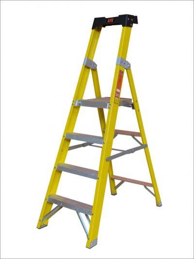 Glass Fibre Platform Step Ladders