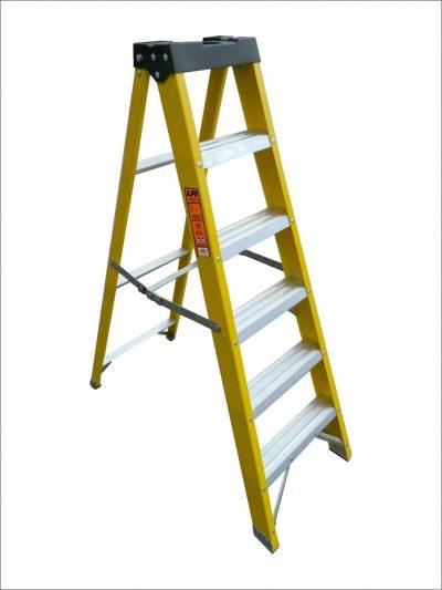 Glass Fibre Swingback Step Ladders