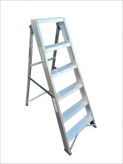 Industrial Swingback Step Ladders