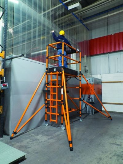 GRP Fibreglass Folding Towers